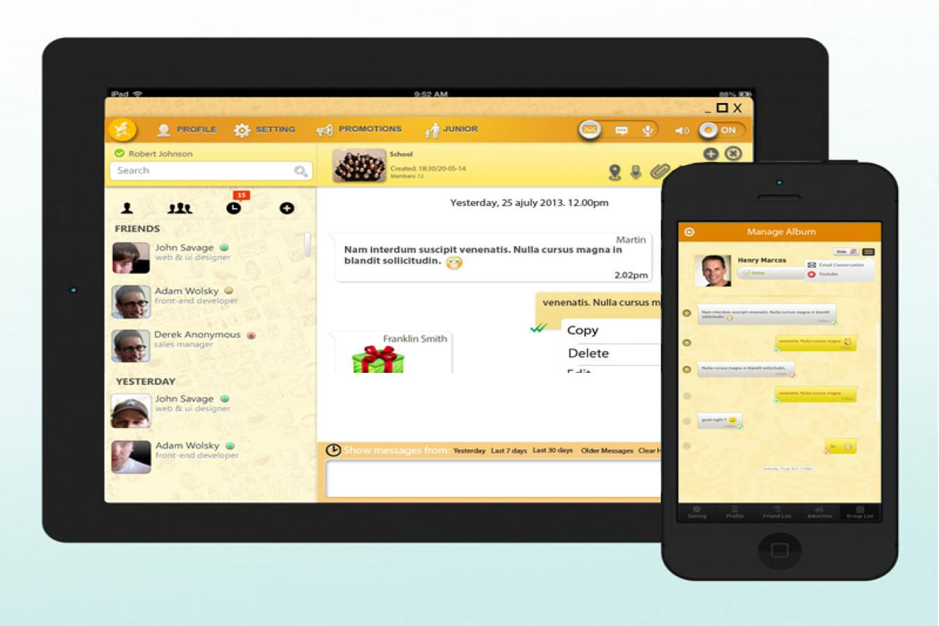 Mobile Chat Applications Offering Unlimited Possibilities