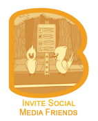 BirdsBeep lets you to invite all your friends in the address book to attend and/or participate through any of the social networking sites you like most in an event you have organized. That is to say, if you prefer to use Facebook or Twitter most then you easily and instantly send an invitation to single or more of your friends at one time to participate in/attend the event.