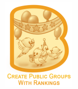Groups enable you to share just everything you want with the people who keep interest in contents like you. With this in mind, based on your personal preferences or needs, you can create single Public Group or multiple Public Groups and enable anyone using BirdsBeep to join it freely. This group is universal can just be about anything it can be about your family, your idols, and your colleagues etc. A Public Group is accessible to everyone, no matter whether they are its members or not. They will also be able to see the number of members in a group, and what they post etc. Also, if a particular group seems interesting or uninteresting to you, you can give ranking to it using your discretion. If a particular group is preferred by most number of users, it will be on the top of results when searched by other user(s) based on the relevancy of the keywords they have used.